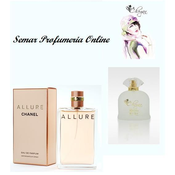 Profumo Donna 100 ml Allure Chanel by Chogan cod.071