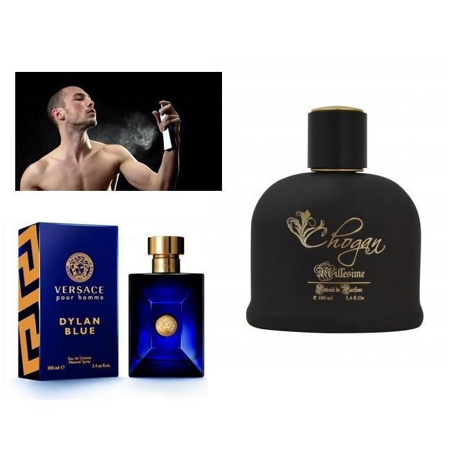 Profumo Uomo 100 ml versace Blue Dylan by Chogan 084